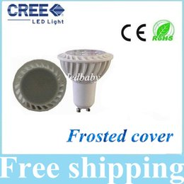 Frosted Cover 5W Led Lights COB GU10 E27 E26 E14 MR16 Dimmable Led Bulbs Light 120 Widely Angle Warm Cool White 110-240V 12V