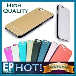 Wholesale For Iphone case MOTOMO Ultra Thin Metal Aluminium Alloy Hard PC Case For Iphone Plus Iphone S6 S6 edge S5 Note Note