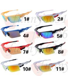 Wholesale 2016 SUMMER New Men s riding glasses driving goggle cycling Sport Sunglasses Bicycle Glass Cheap price AAA quality