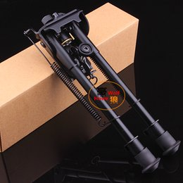 Wholesale 9 Harris Model extendable leg gun mounted fixed bipod for hunting Rifle
