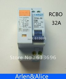 Wholesale DPNL P N A V HZ HZ Residual current Circuit breaker with over current and Leakage protection RCBO