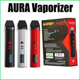 Wholesale Authentic Flowermate AURA Vaporizer in Vaporizer Kit mAh Dry Herb wax oil Kit in Vape Pens VS Snoop Dogg
