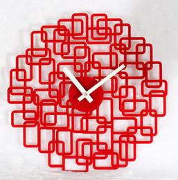Wholesale Fashion brief wall clock table art wall clock maze box chinese style