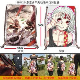 Wholesale-Hot saleing backpack bags Classic cartoon design Tokyo ghouls cartoon Students in small bag Free Shipping