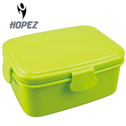 Brand new plastic lunch box bento boxes food container for food carton for kid microwave cutlery set 700ml