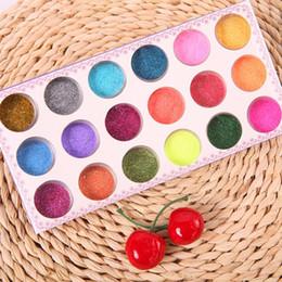 Envío gratis 1 Conjunto de 18 Colores de Uñas de Arte de Polvo del Brillo de Polvo kit de Decoración De Acrílico Consejos de Gel UV de BRICOLAJE # M01200 orden de$18no de seguimiento desde órdenes de uñas acrílicas fabricantes