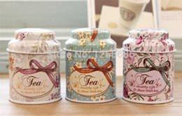 Wholesale 100pcs Small Sugar Candy Tea Storage Tin Box Container Jar Canister