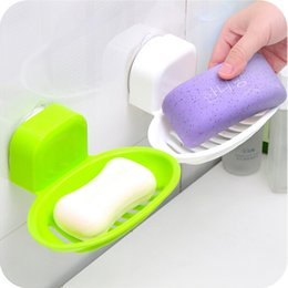 Wholesale Fashion Solid Color Cute Waterproof Travelling Soap Box Plastic Soap Dish Holder Accessories for Bathroom Box WD30