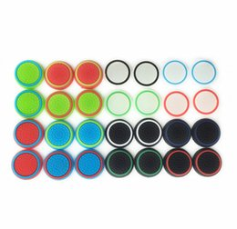 Wholesale Rubber Silicone Joystick Cap Thumb Stick Joystick Grip Grips Caps For PS4 PS3 Xbox one Controller High Quality and FAST SHIPPING