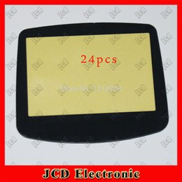 Wholesale for Game Boy Advance Console plastic Lens Screen Replacements with Double sided adhesive