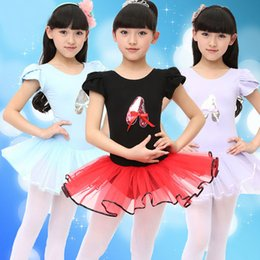 Wholesale School Class Performance Girls Ballet Dress For Children Girl Dance Clothing Kids Kid Ballet Costumes For Girls Dance Leotard