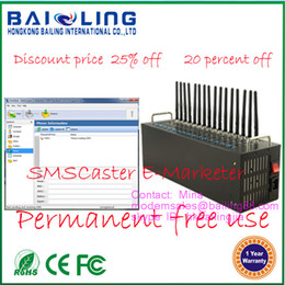 Wholesale Hot sale ports MC55i module bulk sms modem pool quad band offer free bulk sms software SMS Caster v Permanent free use