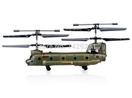 Wholesale New Design Syma Contra rotating rotors Helicopter for Army Fans Double Propeller Chinook Helicopter
