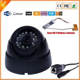 2017 dôme intérieur caméras ip Caméra HD 1280 caméra sans fil de sécurité intérieure de Dome * 720P Caméra IP Megapixel 1MP Wifi IP Avec intérieure Antenne Wifi Module dôme intérieur caméras ip ventes