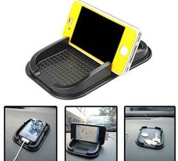 Wholesale New Car Non slip Mat Anti slip Dashboard Sticky Phone Pad Skid Proof Black DHL