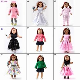 Wholesale Doll Clothes outfit and wedding dress fits for quot American Girl Dolls