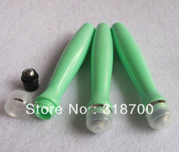 Free shipping -24 lot 15ml plastic roll on bottle with stainless stell ball, 15cc plastic roll-on bottle.
