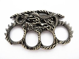 Wholesale collection Works of art New dragon design Four fingers knuckles Excellent defensive tools Self defense