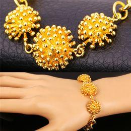 Women's Lovely Hedgehog Charm Bracelet Platinum Plated 18K Real Gold Plated Animal Jewelry Cute Charm Bracelet