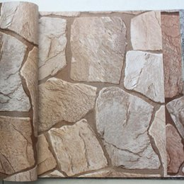 Fond d'écran d'ardoise à vendre-3D Irrégulier Papier peint en vinyle en pvc d'ardoise écologique