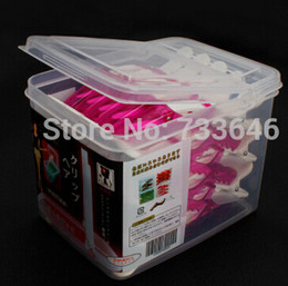 Wholesale-Pink hair clips professional salon hair pin 30pcs box