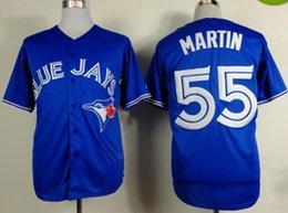 Wholesale Blue Jays Russell Martin Blue Jersey New Arrival Baseball Jerseys Cheap Men s Jerseys Stitched Baseball Wear Hot Sale Athletic Shirts