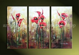 Wholesale New Listing Flowers Oil Painting Enchanting Decoration Home Modern Wall Art Pictures Abstract Restaurant Background Oil Painting