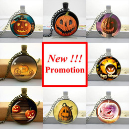 Wholesale 2015 New Fashion Pumpkin Halloween Necklace Halloween Pendant Personalized Picture Necklace NS
