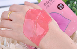 Wholesale 50pcs Pilaten Collagen Crystal Hyaluronic Acid Lip Masks Membrane Moisture White Essence Skin Face Care