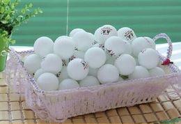 wholesale 200pcs lot Big Big 40mm 3 -Stars Best Table Tennis Balls PingPong Balls white Free Shipping