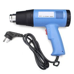 Wholesale Hot Sale W AC V Warm Air Electronic Heat Gun Hot Air Gun Hand Hold order lt no track