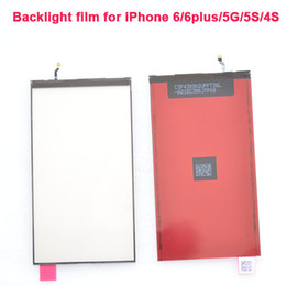 "New Original iPhone 5G LCD Display Backlight Back Light Replacement Part For iPhone 6 6 Plus 4.7"" 5.5"" Black Light film"