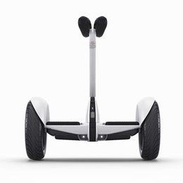 Wholesale FREE TO SINGAPOR Xiaomi Ninebot Self balancing Scooter mini Car km h km Two Unicycle Wheels Smart System Phone APP Alloy body LED Lights