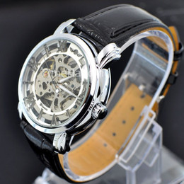 Wholesale Luxury Winner Celebrity Silver Master Skeleton Water Sports Men Watch