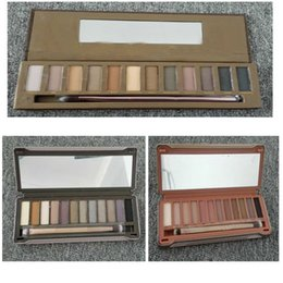Wholesale Factory Price Eyeshadow Palette The st nd rd Generation Makeup Newest Colors Cosmetic Shimmer Matte Eye Shadow With Brush