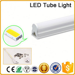 CE RoHS FCC 100mm T5 LED tube light high super bright 12W Warm nature cold white LED Fluorescent Bulbs AC85-265V integration tube