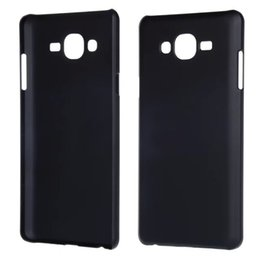 Lumia cubierta dura recubierta de goma en Línea-Para HTC UNO A9 Samsung Galaxy ON7 Nokia Lumia 950 XL Microsoft 950XL aceite de goma dura mate caja de la PC helada de plástico cubierta de la piel del teléfono