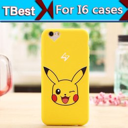 Wholesale For iphone Cartoon Anime case Cartoon TPU Case For iphone Plus Soft Silicone Gel Back Cover cell phone case
