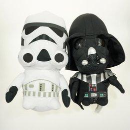 Wholesale-33cm Darth Vader Plush Toy Star Wars Stuffed Gifr For Birthday Star War Plush Doll