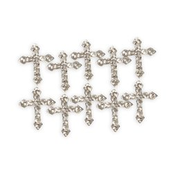 Wholesale Zinc Alloy Cross Rhinestones Glitters for D Nail Art Tips Decoration Perfect Choice For Your Girlfriend Or Wife L3FE