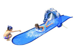 Wholesale Inflatable Climbing Inflatable Raft Hot Kids Summer Water Spray and Safe Water Slides Fashion Baby Outdoor Strong and Durable Environment Pr