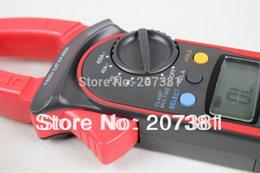 Wholesale PRETTY x UNI T UT203 Clamp LCD Digital Multimeter AC DC Volt Amp Meter Ohm Hz Tester
