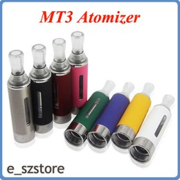 Wholesale High quality best price Electronic Cigarette ml EVOD Atomizer Bottom Coil EGO Kanger MT3 clearomizer cartomizer replaceable coil