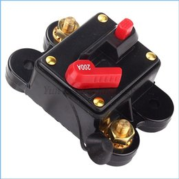 Wholesale Car Audio Amplifier Inline Circuit Breaker Fuse Holder for DC V A Protection