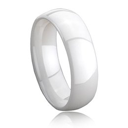 Wholesale Cool white christmas gift for fashion ceramic rings for men's jewelry men's jewelry free ship