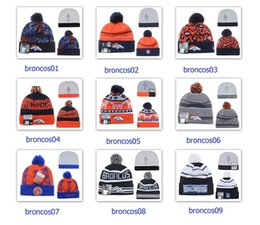 Wholesale Winter Wool Hats Broncos Beanies