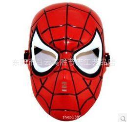Wholesale Factory direct sale masks Children s plastic masks children masks masks cartoon Spider Man mask injection molding