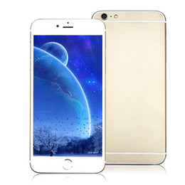 Wholesale Octa Core MTK6795 Goophone i6s GB GB GB Touch ID Fingerprint Android Lollipop inch MP Camera G FDD LTE Smartphone