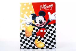 2017 mélanger le cas de la mode Fashion lovely Cartoon Stitch Cover Case Mignon Mickey Minnie housse pour ipad mini 123 mini4 ipad 234 air 5 6 ipad air2 gratuit 20 bon marché mélanger le cas de la mode