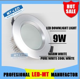 Wholesale cheap W High power Dimmable Led ceiling lamp lm Led Bulb V LED lighting led lights spotlight downlight with drive DHL shipping